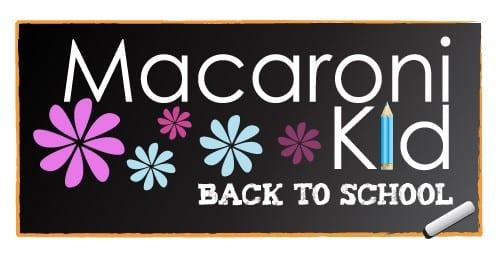 Macaroni kid - Back to School